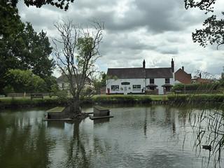Hanley Swan Village Pond.