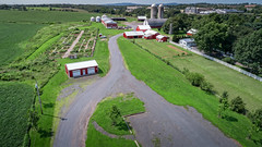 the garden state (sephrocker) Tags: drone p4 phantom4advanced farm barn garss field landscape arial