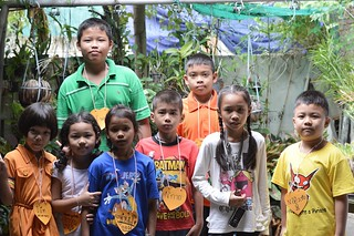children at a day care center