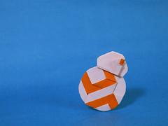 BB-8 from Star Wars (overha) Tags: bb8 starwars kakamihitoshi origami