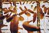 Monkey view🐵 (redshutterbugg) Tags: laartsdistrict losangeles 500px discoverla fujifilmxworld fujifilmxt10 bananas yellow streetphotography icecream love icecreammuseum