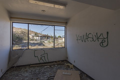 Abandoned Boron Federal Prison. (slworking2) Tags: us boron california unitedstates boronfederalprison abandoned urbex urbanexploration decay airforce minimumsecurity