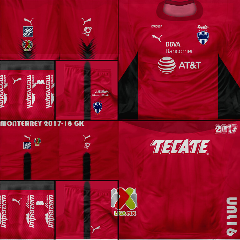 Monterrey 2018 03 GK (Kits FIFA SOCCER PC) Tags  fifa07 kits ligamx liga f7e72f326