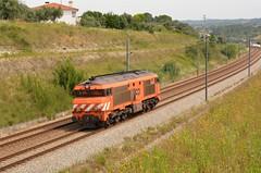 Comboio de Carril n.º 74030 - Paialvo (valeriodossantos) Tags: comboio medway train mercadorias 1930 comboiodecarril carrildebarralonga locomotivaisolada paialvo tomar linhadonorte caminhosdeferro portugal