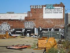 (gordon gekkoh) Tags: savie mike luk kelso oakland graffiti