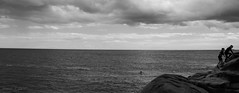 "The Best of Times (Haf3z) Tags: ""fortyfoot"" ""40foot"" ireland europe europa eu uk water rocks cliffs children playing swimming ocean atlantic atlanticocean clouds sky horizon swim beach vacation holiday dublin diving dive nature light summer people family bw blackandwhite blackwhite mood landscape nikon nikond90 nikkor18105mm fortyfoot street visitdublin visitireland travelphotography summervacation cliffsandwater europeanunion strangers urban"