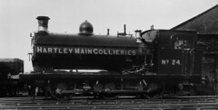 numb - hartley main collieries 0-6-0st 24 seaton delaval (johnmightycat1) Tags: railway colliery ncb northeast