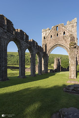 @ Llanthony Priory (technodean2000) Tags: llanthony priory mid wales uk nikon d610 lightroom clone architecture outdoor building ruins arch viaduct ancient sky stonework