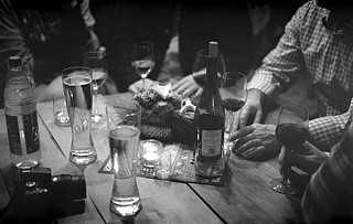Drinking with friends