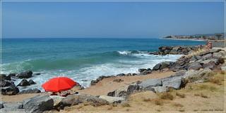 Playa de Santa Susana - Barcelona