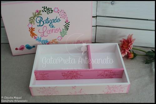 "Caixa de batizado ""Grinalda de Primavera"""