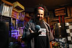 Edson SAGAZ (dayana-souza) Tags: cultura sagaz vitpria centrocultural musica rapper hiphop mic black