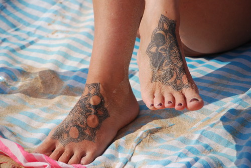 Tattood Feet