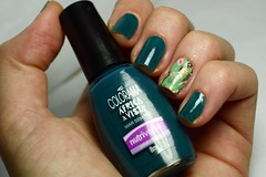 1C 10M 10A # Jelly: Mar sem fim - Colorama. (Raíssa S. (:) Tags: green teal verde esmalte unhas nails nailpolish naillacquer nailpainting colors colorama cremoso