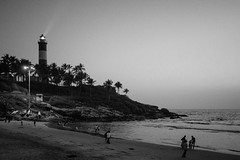 The Night (Marcel Weichert) Tags: beach india indianocean kerala kovalan lighthouse lighthousebeach mar ocean sea thiruvananthapuram trivandrum vizhinjamlighthouse kovalam in