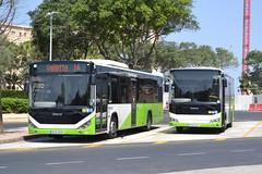 Malta Public Transport BUS828 & BUS669 (Will Swain) Tags: malta 27th june 2017 valletta bus buses transport travel maltese vehicle vehicles county country english island mpt otokar public bus828 bus669 828 669