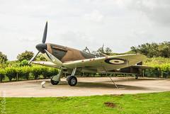 Battle of Britain, memorial 7 (philbarnes4) Tags: spitfire battleofbritainmemorial capelleferne kent folkestone england dslr philbarnes aircraft fighter fighters combat memory remember