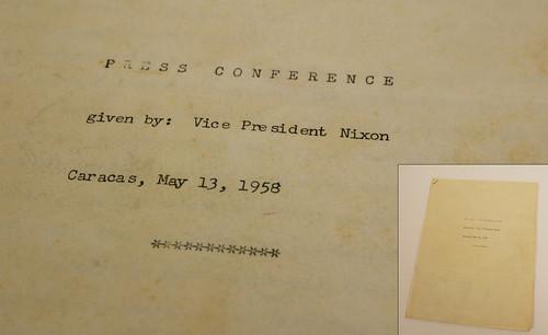 Press Conference Transcript, May 13, 1958