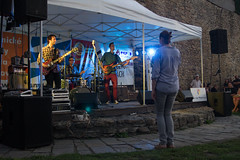 Outdoor concert by the castle (pavlinajane) Tags: concert entertainment music evening night crowd party event group live people person light club stage concept nightlife fun lifestyle leisure background band performance festival holidays nightclub enjoying clubbing hands women happy show audience teenage musician men up time young nice indoors having smiling free friends looking lights beautiful teens teenagers prerov koncert prerovsky