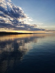 This is my paradise 💙 (maresaDOs) Tags: sunsetbeach sunset abruzzo vasto riservanaturaleaderci chieti natura sky sea mareadriatico mare italy it settembre coucherdusoleil pôrdosol