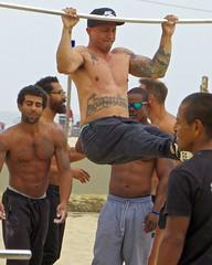 IMG_7571 (danimaniacs) Tags: venice california musclebeach shirtless hunk muscular hot sexy man male guy pecs tattoo armpit