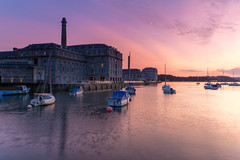 Royal William Yard (Rich Walker75) Tags: plymouth devon landscape landscapephotography landscapes landmark landmarks sunset sundown sky cloud greatbritain canon england eos100d efs1585mmisusm eos