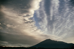 The Arc (jasohill) Tags: deep evning landscape sunset amazing nature hell mountains city iwate clouds power hachimantai photography sky arc 2017 japan color canonef24mmf28 canoneos80d
