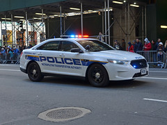 MTA 678 (Emergency_Vehicles) Tags: mta police metropolitantransitauthority newyork newjersey columbusday