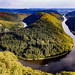 the curvy river (Felicis_Flower) Tags: landscape forest water sky tree mountain saarschleife orschholz saarland river fluss