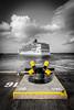 16 42 (MBDGE 1Million+Views) Tags: orkney sea ship scotland seascape sky yellow bollard pier harbour hatston cloud black selective lightroom cruise liners 2017 holiday