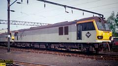 92028 (dave hudspeth photography) Tags: railway train nostalga diesel track transport britishrail iconic davehudspethgrey red blue gner crewe york newcastle