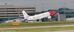 Norwegian LN-DYG (Dave.Maughan) Tags: norwegiancom manchesterairport aviation lndyg