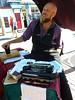 Poetry Written on the Spot, September 2017 (wildukuleleman) Tags: provincetown massachusetts 2017 cape cod commercial street town hall busker performer kevin devaney