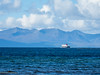 Arran ferry (Rourkeor) Tags: ardrossan scotland unitedkingdom gb ferry boat hills arran ayrshire sea clouds blue olympus omd em1 mk2 12100mmpro