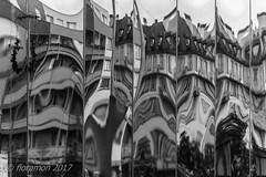 (Floramon) Tags: reflexion reflection spiegelung bw strasburg