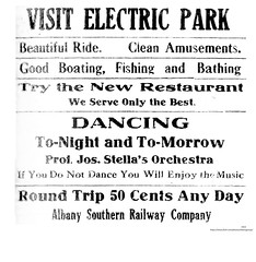 Electric park  Kindehook ny   1914  albany ny (albany group archive) Tags: albany southern railway railroad early 1900s amusement park