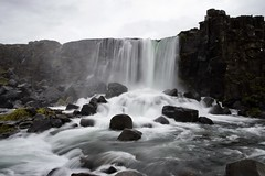 Iceland Waterfall - Pingliver National Park