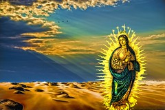 The Sun Always Shines on a Saint (Rusty Russ) Tags: saint sun rays beach cloud brids heaven earth camera timing photoshop flickr google bing daum yahoo image stumbleupon facebook getty national geographic magazine creative creativity montage composite manipulation color hue saturation flickrhivemind pinterest reddit flickriver t pixelpeeper blog blogs openuniversity flic twitter alpilo commons wiki wikimedia worldskills lady duck candid country street scenery self set water sky red bue green art light topaz on1 filter