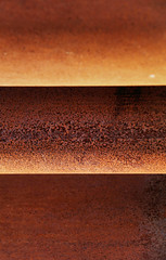 Another Horizon (studioferullo) Tags: abstract art beauty bright colorful colourful colors colours contrast dark design detail downtown edge light metal minimalism outdoor outside perspective pattern pretty rust study sunlight sunshine street texture tone weathered world sedona arizona lines horizon layer sculpture macro orange