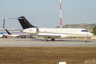 Private --- Bombardier BD-700 Global 5000 --- OE-IMA