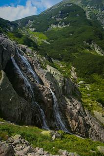 Siklawa Waterfall Tatra Mountains