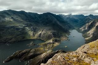 Loch Coruisk and the Black Cuillin