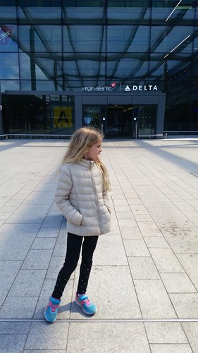 Violet At Heathrow