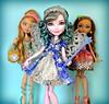 Glass Slippers & Real Children (honeysuckle jasmine) Tags: mattel ever after high farrah goodfairy fairy godmother daughter princess ashlynn ella cinderella cedar wood pinocchio