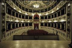 Teatro Verdi Busseto (lorenzog.) Tags: teatroverdibusseto teatro theater theatre architecture architettura stage lighting busseto emiliaromagna italy italia nikon d700 show art culture