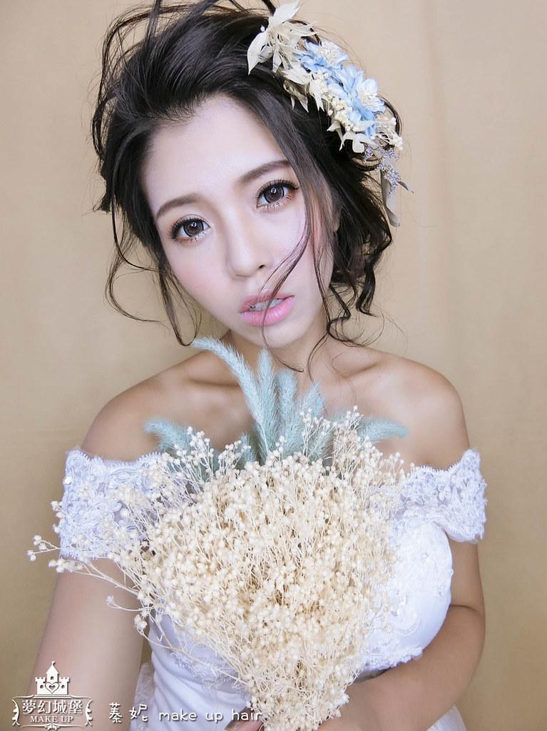 【新秘蓁妮】新娘造型創作 / 空靈系夢幻造型
