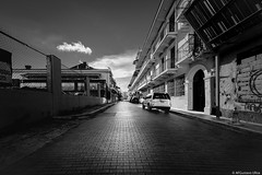 CASCO ANTIGUO - BW (mestremur) Tags: fineart fisheye lens wide angle sony mirrorless a7rii bw brick street photography ru rua panama centroamerica ladrillo calles adoquines cameras lenses special fisheyes