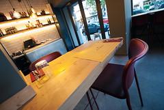 _DSC2117 (fdpdesign) Tags: pizzamaria pizzeria genova viacecchi foce italia italy design nikon d800 d200 furniture shopdesign industrial lampade arredo arredamento legno ferro abete tavoli sedie locali