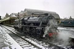 Steam at a cold Perth (Iain Smith1) Tags: black5 44767 perth snow