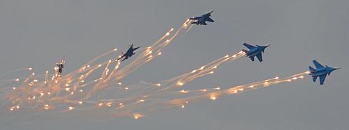 Russian Knights (Russkiye Vityazi) – ARMY 2017, Kubinka Airbase 23-8-2017
